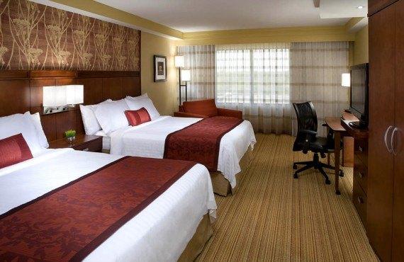Courtyard Marriott - Chambre 2 lits