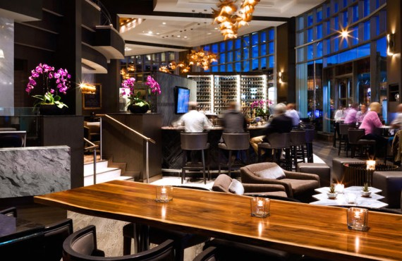 Fairmont Waterfront - Arc Restaurant - Bar