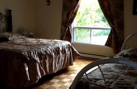 Gîte au Crépuscule - chambre 2 lits