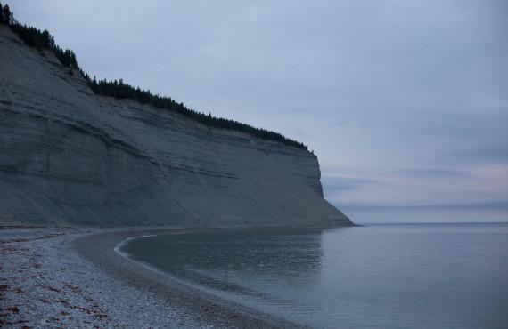 Falaise Île Anticosti
