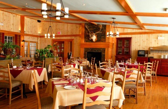 Gîte du Mont Albert - Salle à manger