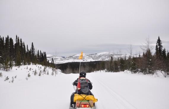 Suivez le guide sur les sentiers balisés de motoneige