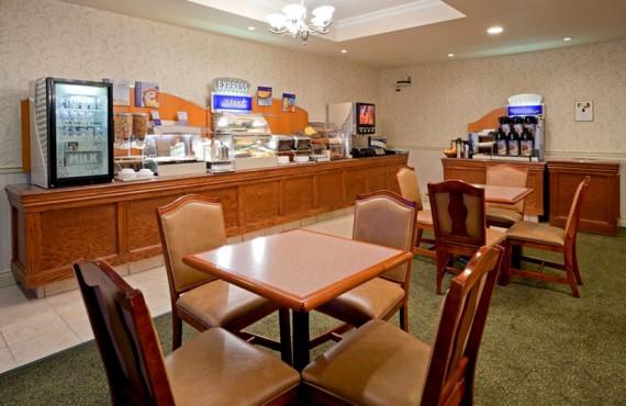 Holiday Inn Express - Salle du petit-déjeuner