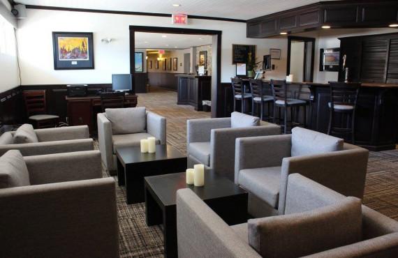 Le Bar-détente de l'hôtel
