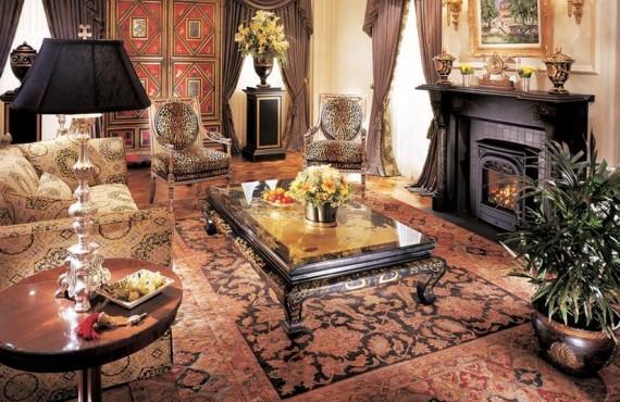 Hôtel le St-James - Salon de la Suite Royale
