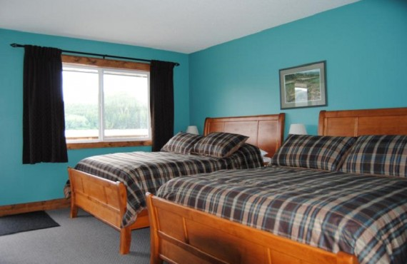 Knight Inlet Lodge - Chambre 2 lits
