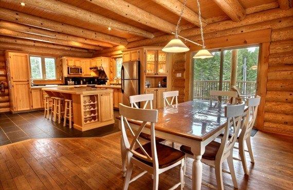 Ma Cabane au Canada - Cuisine, salle à manger