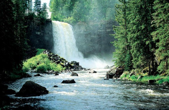 Mahood Falls, Parc Wells Gray