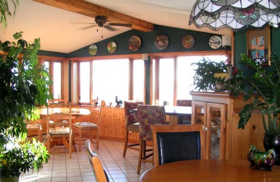Le Manoir Hortensia - Salle à manger