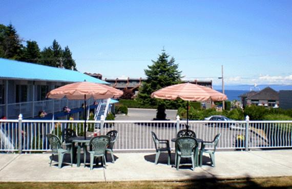 Motel Ocean Crest - Terrasse
