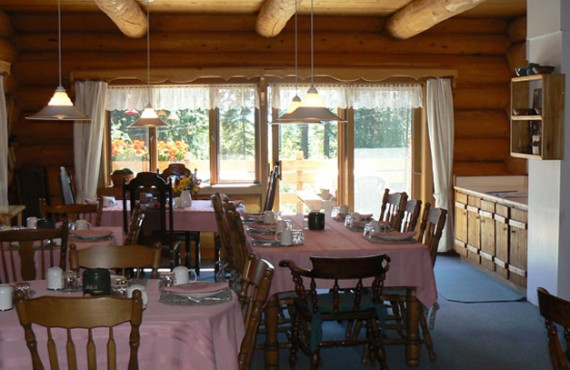 Ranch Nakiska - Salle à manger de l'auberge