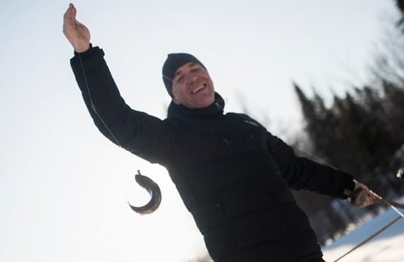 La pêche en hiver