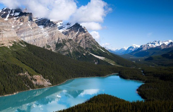 Peyto Lake, Parc National de Banff