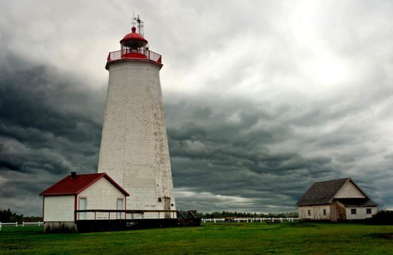 Miscou Island Lighthouse, Acadian Peninsula