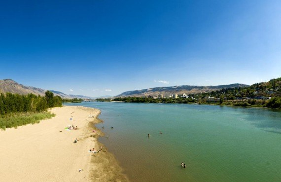 Beach and River, Kamloops