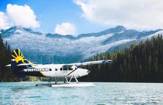 Seaplane Alpine Lake, BC