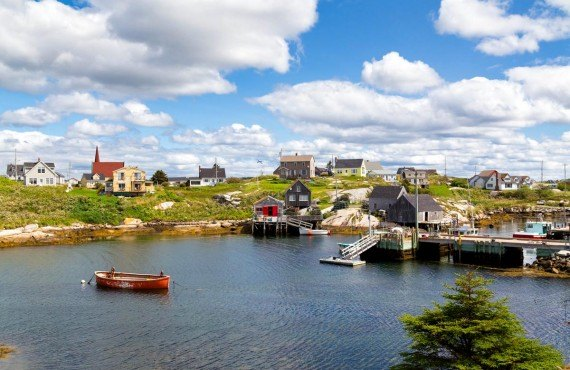 Peggy's Cove Village, Nova Scotia