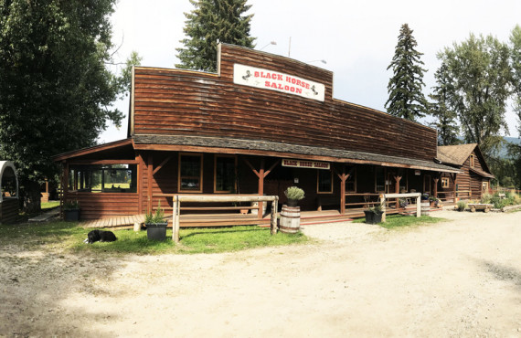 Black horse saloon