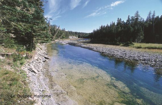 De nombreux cours d'eau sur l'île