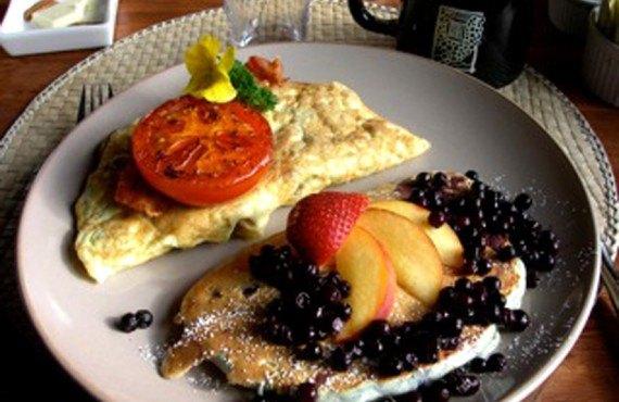 Auberge Logpile - Petit-déjeuner
