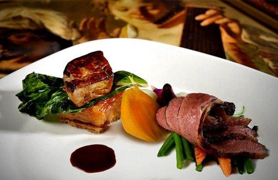 Auberge du Mange Grenouille - Repas
