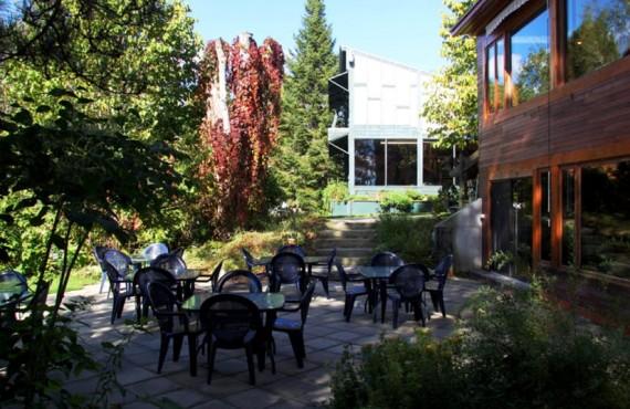 Auberge St-Mathieu du Lac - Terrasse