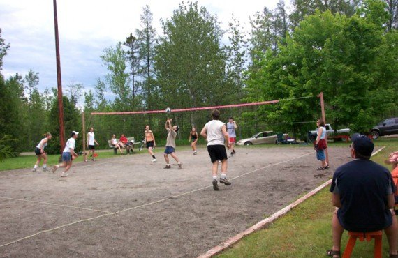 Camping Amqui - Volley-ball