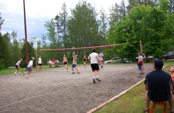 Camping Amqui - Volley-ball