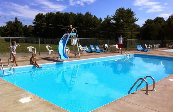 Camping Cantley - Piscine