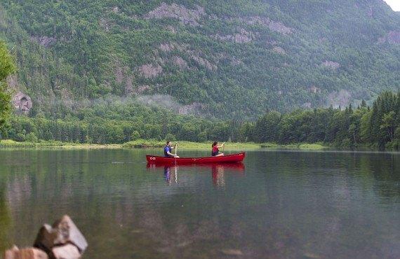 canoe hike