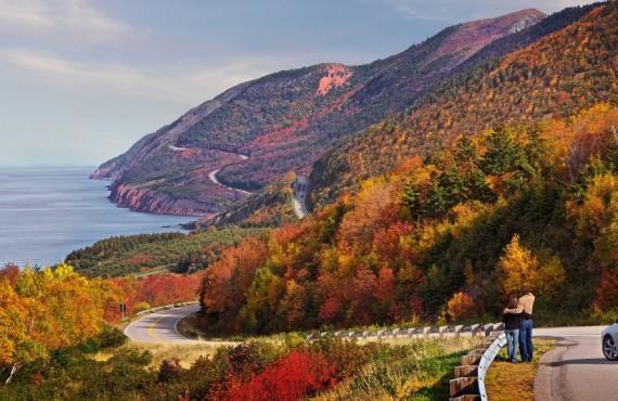 Couleurs d'automne sur Cabot Trail