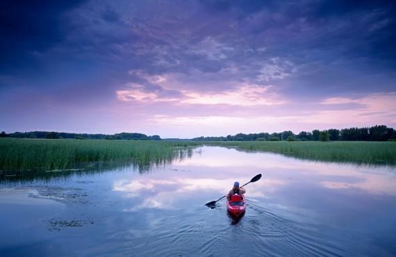 Randonnee en Kayak