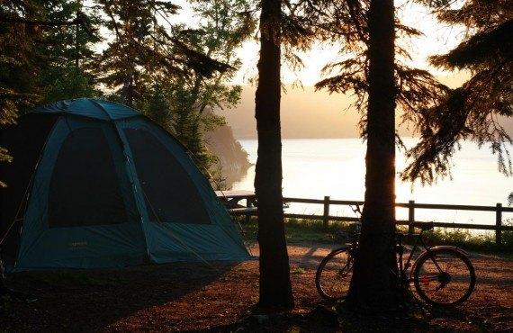 Camping à Petit-Saguenay