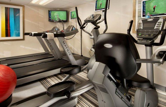 Comfort Inn Downtown - Salle de Gym