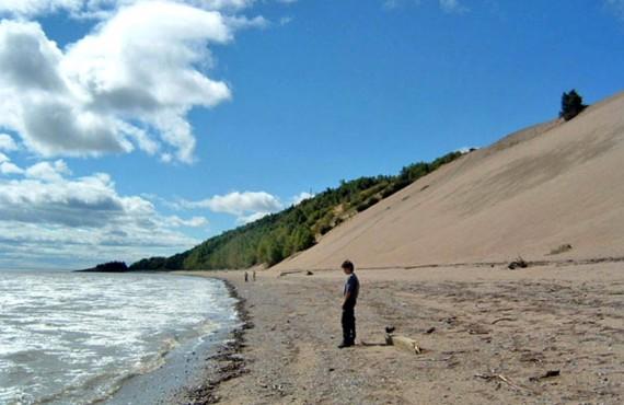 Domaine des dunes - vue à proximité