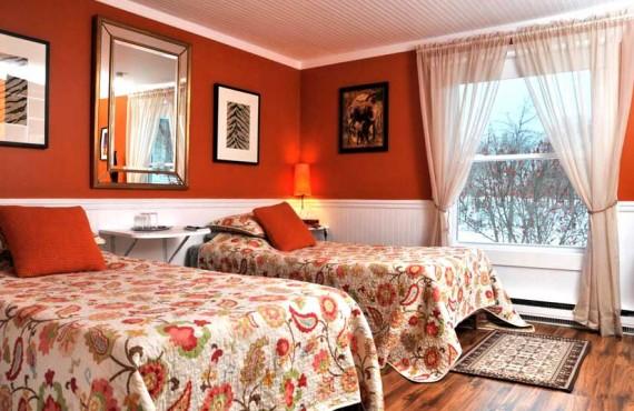 Gîte Fleury - Chambre 2 lits jumeaux