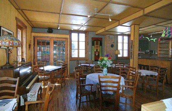 Gîte la Vieille École - Café