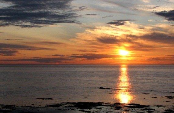Gite Monts et Mer - Coucher de soleil