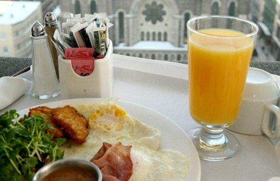 Hôtel Pur - Le petit-déjeuner