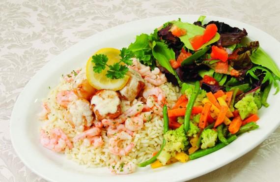 Repas aux fruits de mer