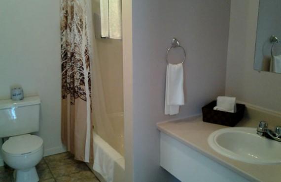 Motel Studio la Croisière - Salle de bain
