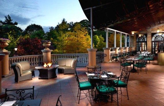 Omni Shoreham - Terrasse du restaurant