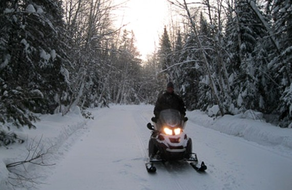 Pourvoirie Club Gatineau - Sentier motoneige