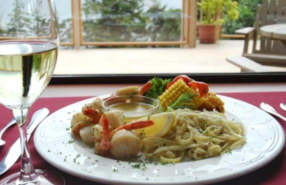 Pourvoirie Tsa Kwa Luten - Repas