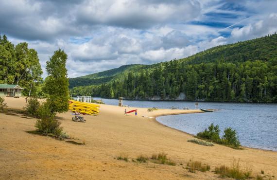 Les plages du parc du Mont-Tremblant