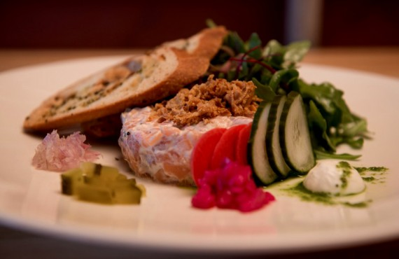 Riôtel Matane - Tartare de saumon