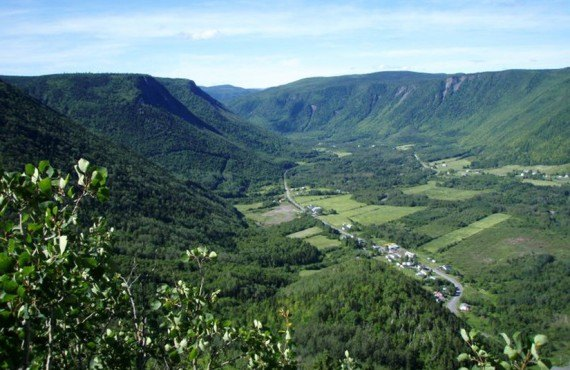 Glacial Valley of Mont-Saint-Pierre, Canada