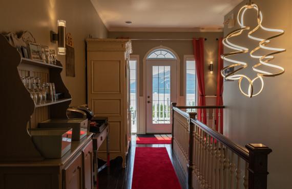 Floor and corridor
