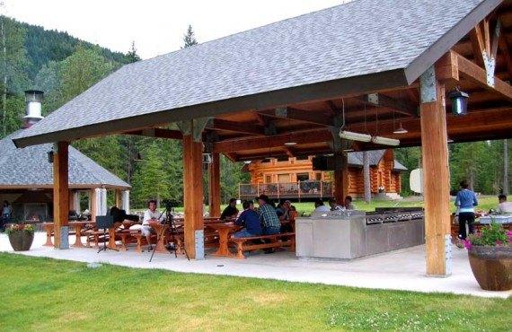 Alpine Meadow Resort - Repas plein air
