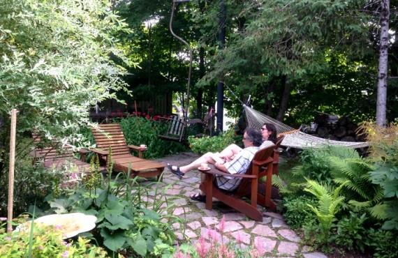 Auberge Le Lupin - jardin